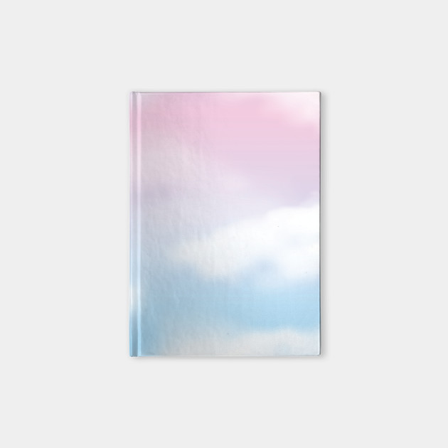 Cute Pink And Blue Sky Clouds Background