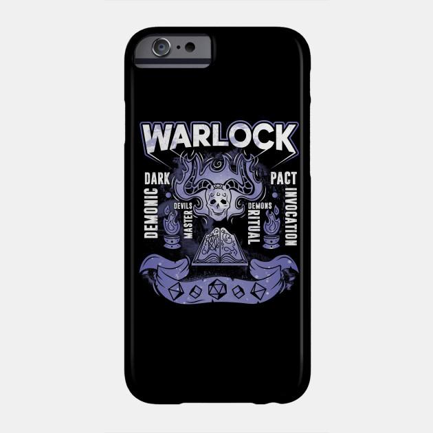 WARLOCK - D&D Classes D&D Lover Gift Gamer Tee