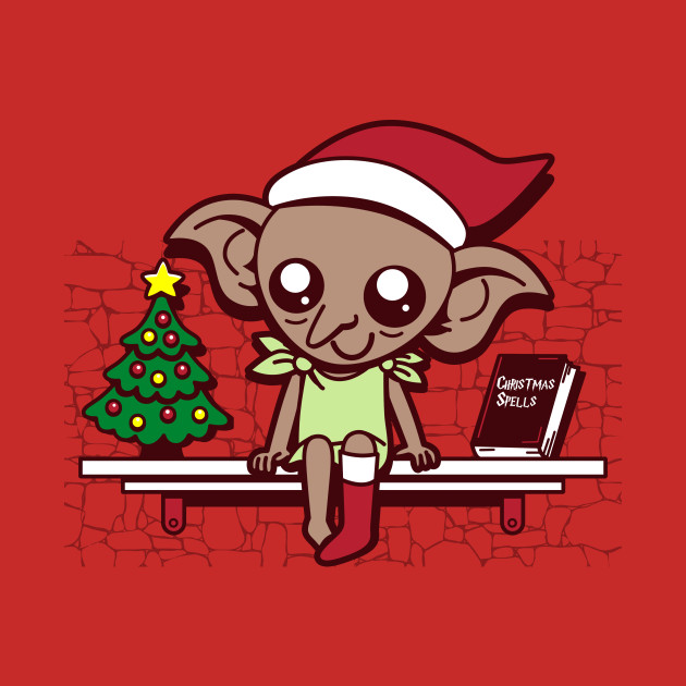House Elf On A Shelf Christmas T Shirt Teepublic