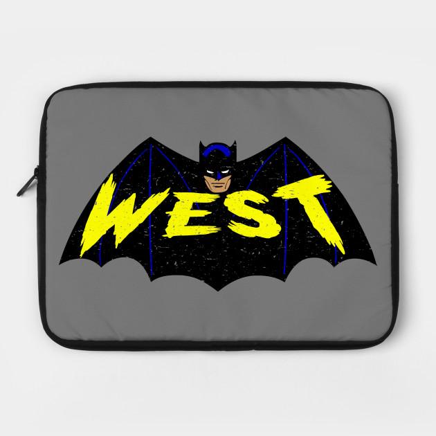 Adam West Bat Logo