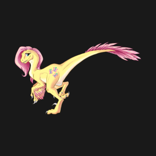 My Little Raptor - Fluttershy t-shirts