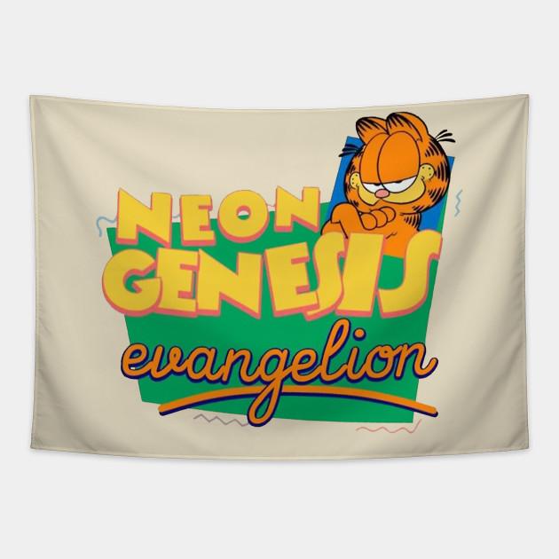 Evangelion X Garfield