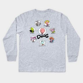 870f2030 Doug Kids Long Sleeve T-Shirts   TeePublic