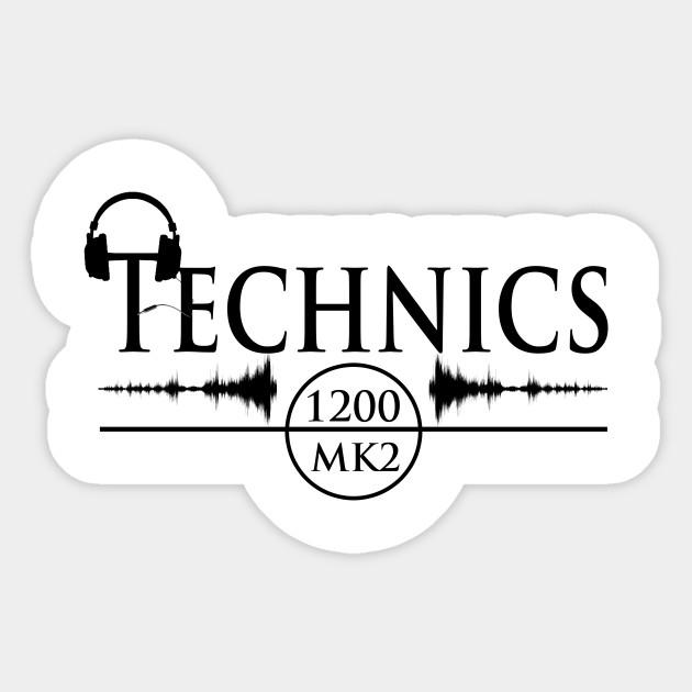 Technics 1200 mk2 Diggz Logo