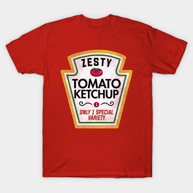 Funny Ketchup Halloween Costume T-Shirt