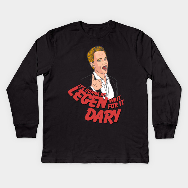 Barney Stinson T-Shirt LEGEN *wait for it* DARY How I Met Your Mother HIMYM