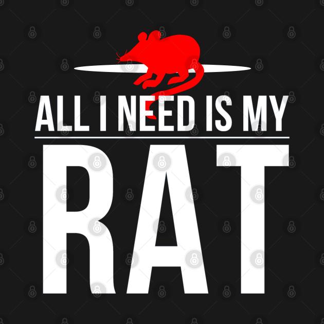 rat rats rat pet rats pets rats funny gift rat lover pet pet lover T-shirt I rat pets gift idea