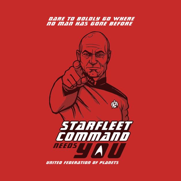 Starfleet Command Wants You T-Shirt