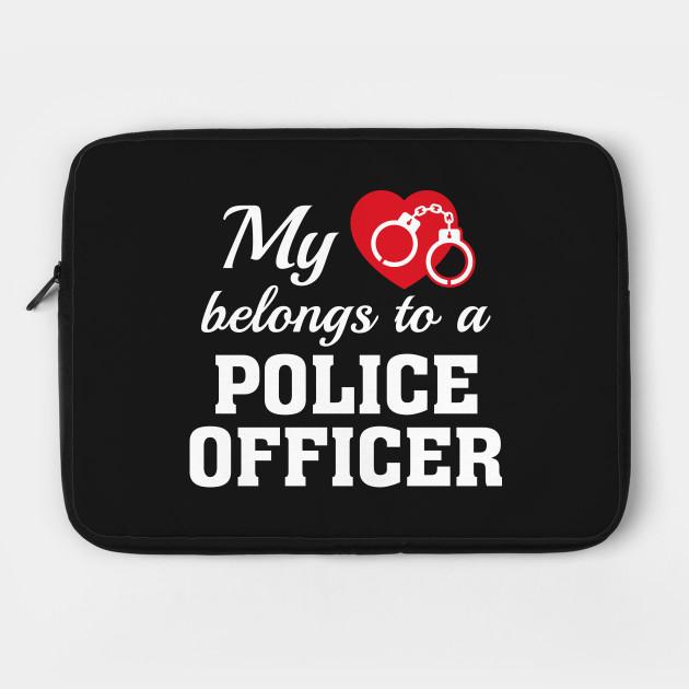 Heart Belongs Police Officer