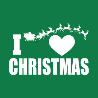 I Heart Christmas t-shirts