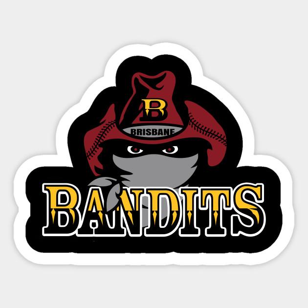 Brisbane Bandits baseball - Brisbane Bandits - Sticker | TeePublic