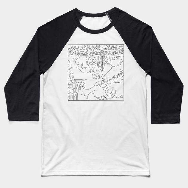 f0483996 ARMCHAIR BOOGIE - Michael Hurley - Baseball T-Shirt | TeePublic