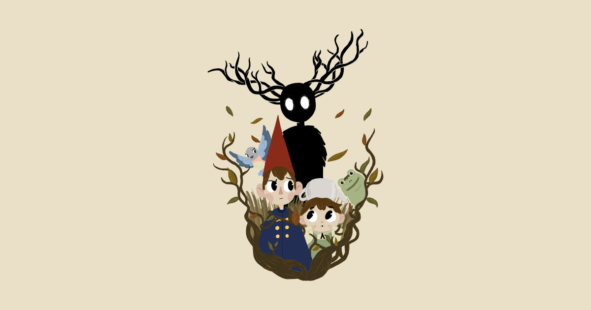 over the garden wall leaf posters and art prints teepublic - Over The Garden Wall Merchandise