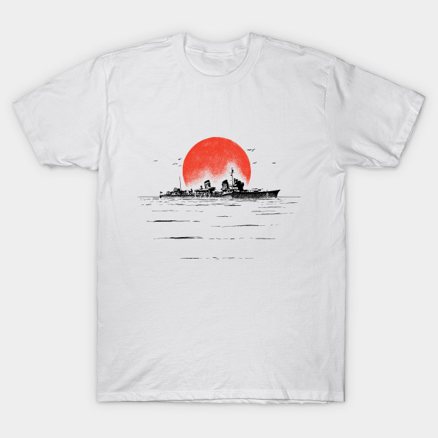 Japanese Ship Ww2 T Shirt Teepublic