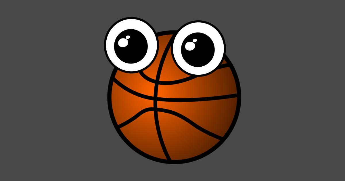 Basketball Emoji Basketball Sticker Teepublic