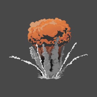 NUCLEAR EXPLOSION t-shirts