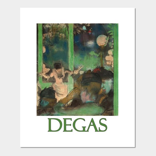 16 Degas Art Stickers
