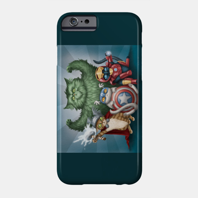 The Catvengers iphone 11 case