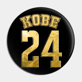 Kobe Bryant 24 Pins and Buttons | TeePublic