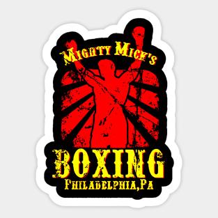 "Inspiré par Rocky /""Mighty Mick/'s Boxing/"" Skinny Fit T-Shirt"