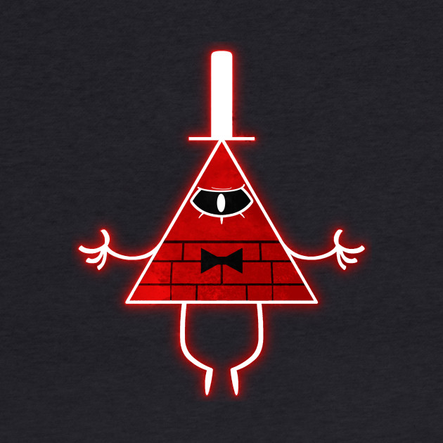 Gravity Falls Bill Cipher Angry