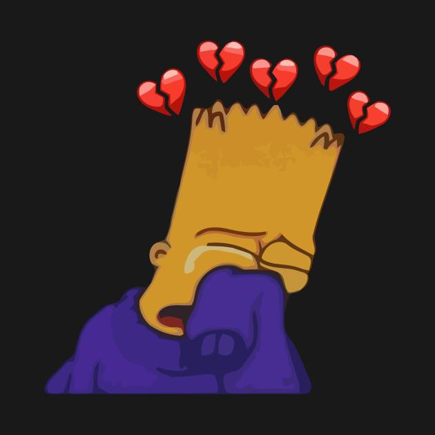 Sad Bart - Bart - Hoodie