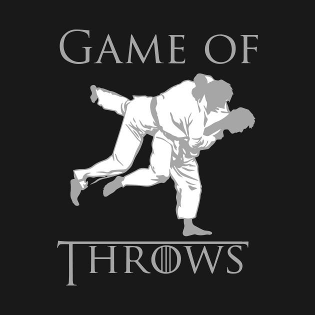 Game of Throws Judo Jiu-Jitsu T-Shirt