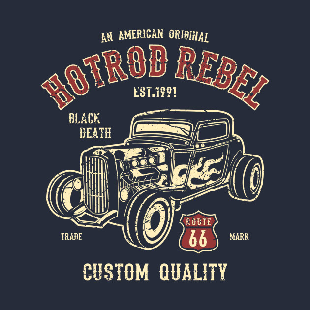 American Hotrod Rebel Black Death Custom Quality Car