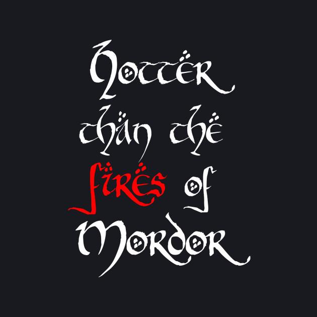 Hotter than Mordor v1