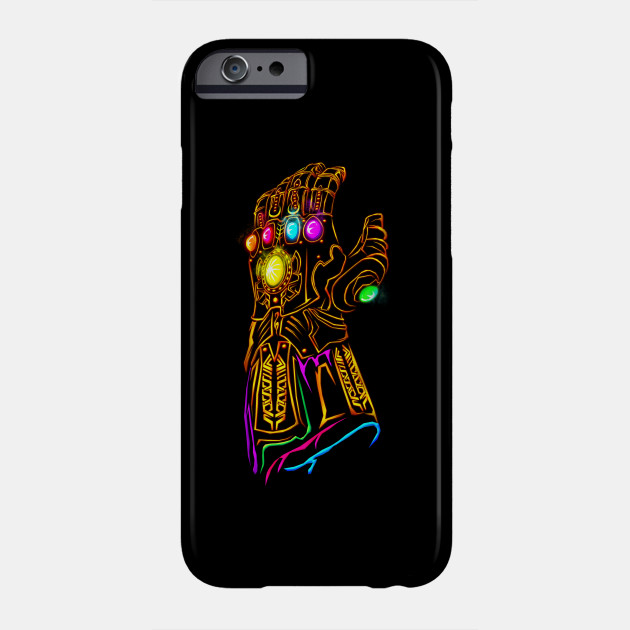 Thanos With Infinity Gauntlet 2 iphone case