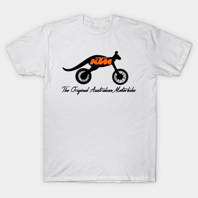 Ktm Kangaroo Motorcycle Ktm Racing T Shirt Teepublic