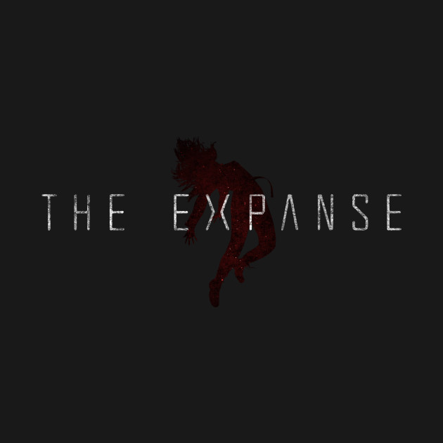 The Expanse - Mao Logo - Red Dirty