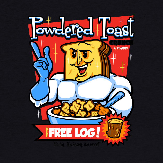 Powdered Toast Crunch Man