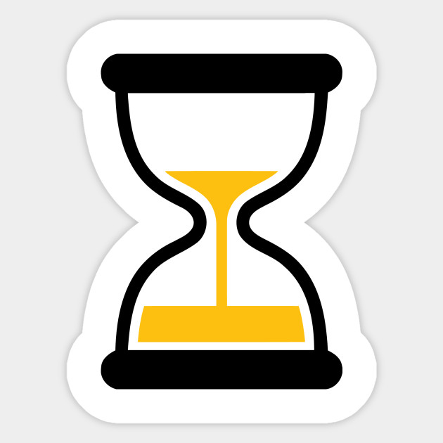 Sandglass Hourglass Running Out of Time Icon Emoticon - Sandglass ...