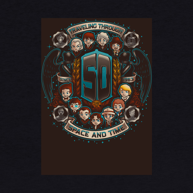 50 Years of Timelords