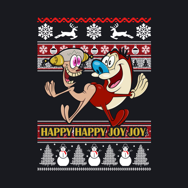 Happy Happy Joy Joy Ugly Christmas Sweater