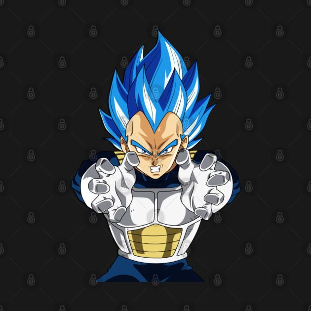 Vegeta Ascended Super Saiyan Blue