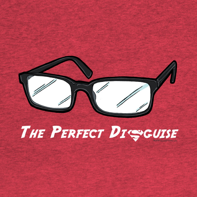The Perfect Disguise Superhero Glasses Costume