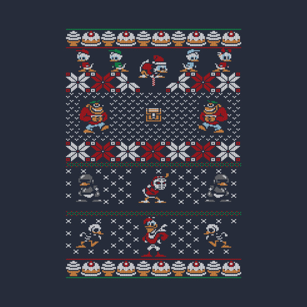 DuckTales Ugly Christmas Sweater