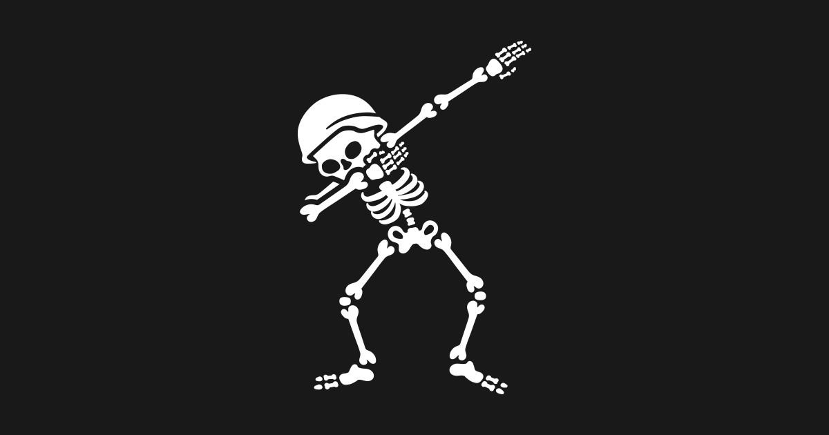 569df852c Soldier biker skeleton Dab   Dabbing T-Shirt