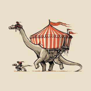 D&D Dino Circus t-shirts