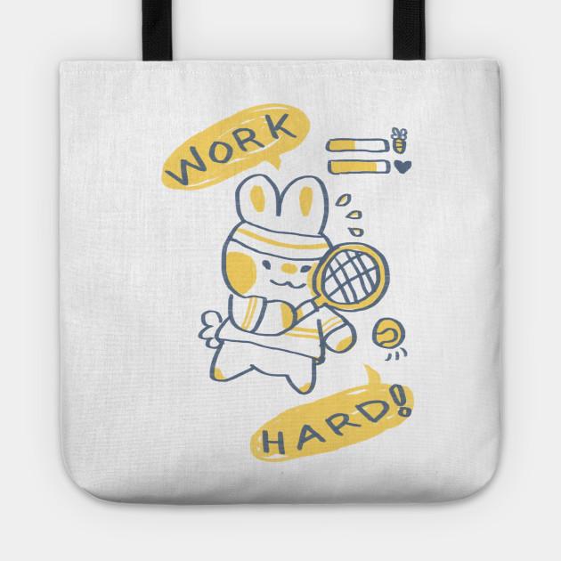 Work Hard Bunny