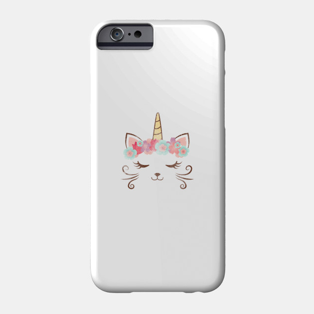 Cute Unicorn Flower Case Unicorn