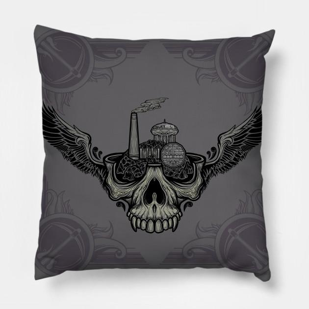 Sudbury Skull Pillow
