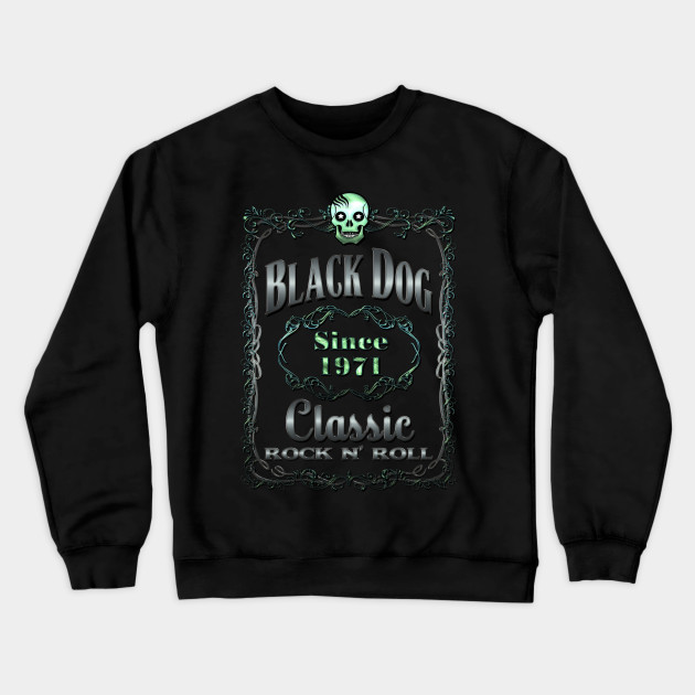 All You Need is Whiskey Not Love Black Adult Crew Neck Sweatshirt