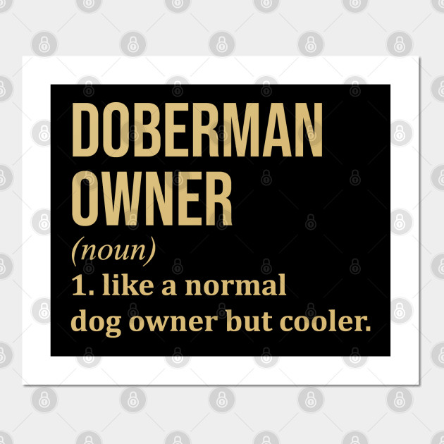 English Print Doberman Pinscher Puppy Dog Puppies Dogs Poster Art Picture