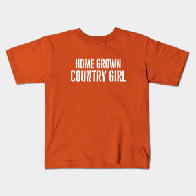 0435bf15e69bb Country Girl Saying Kids T-Shirts | TeePublic