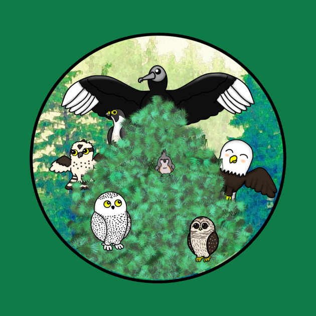 Birds of North America - Large Design