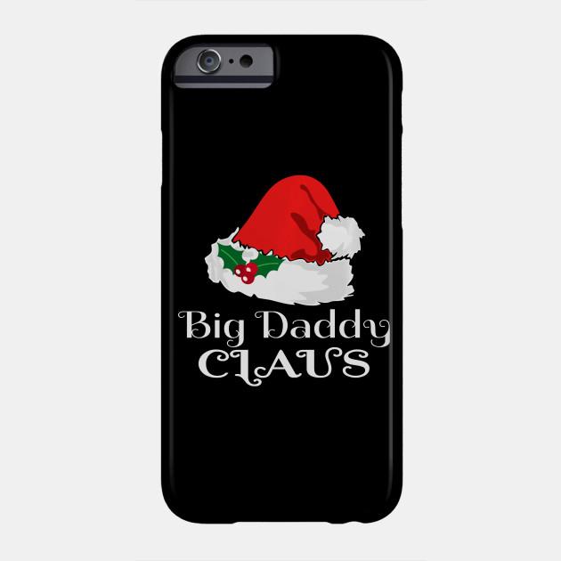 Christmas Big Daddy Claus Matching Pajama Santa Hat X Mas