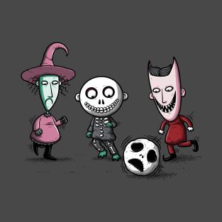 Nightmare Soccer t-shirts